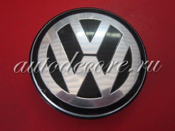Колпачок для диска Volkswagen black (62/55/10)