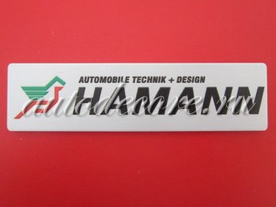 Эмблема HAMANN Automobile Technik+Design 100х25 мм