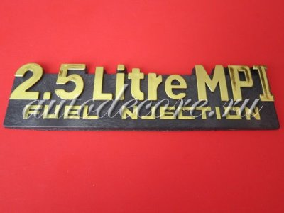 Эмблема 2.5 Litre MPI Fuel njection 131х34 мм
